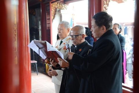 Lễ dâng hương, tế Đức Tổ Trần Nguyên Hãn ngày 25.2.2017