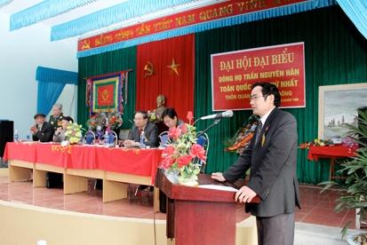 Chương trình hoạt động của Ban liên lạc Dòng họ Trần Nguyên Hãn Nhiệm kỳ I